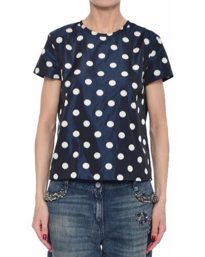 Блузка синяя весенний Henry Cotton's