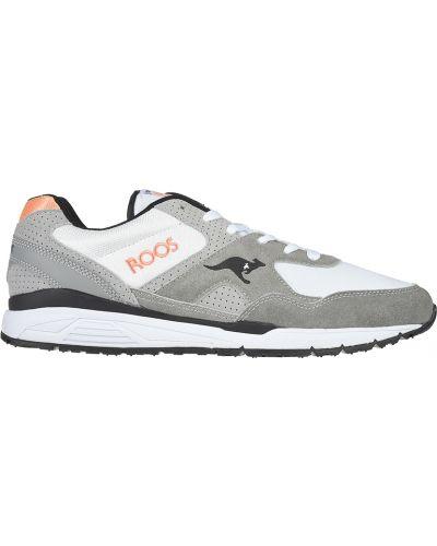 Текстильные кроссовки - серые Kangaroos