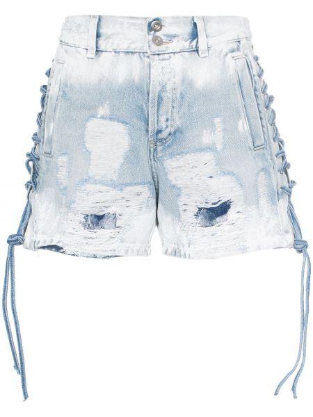 Джинсовые шорты с завышенной талией с карманами Faith Connexion