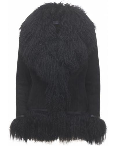 Черная короткая куртка с карманами Saks Potts