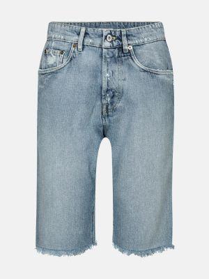 Хлопковые джинсы Miu Miu
