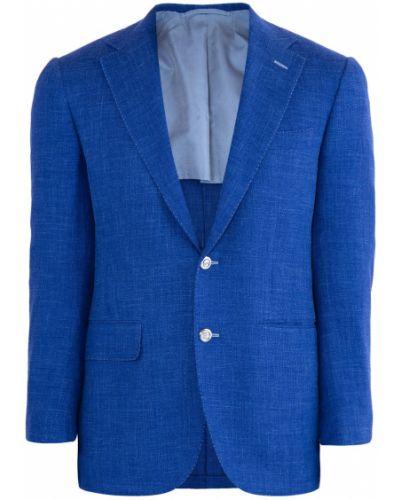 Пиджак с карманами приталенный Stefano Ricci