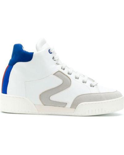 Белые высокие кроссовки Stella Mccartney