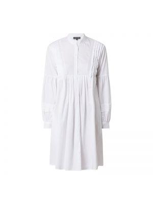 Biała sukienka rozkloszowana bawełniana Risy & Jerfs