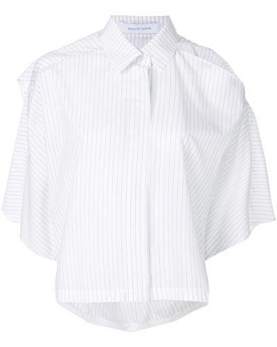 Рубашка белая в полоску Walk Of Shame