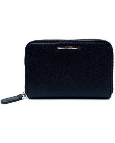Кожаный кошелек - черный Eminsa