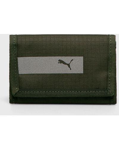 Кошелек текстильный зеленый Puma