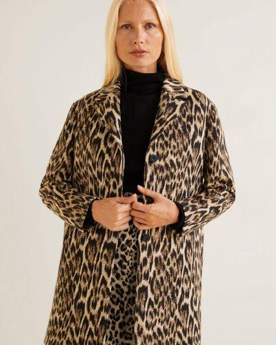 Утепленная куртка прямая на пуговицах Mango
