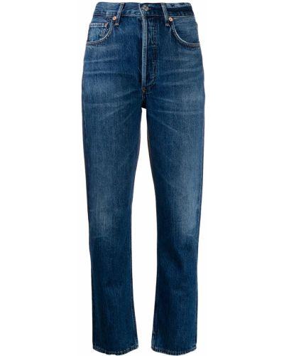 Прямые джинсы mom с накладными карманами Citizens Of Humanity
