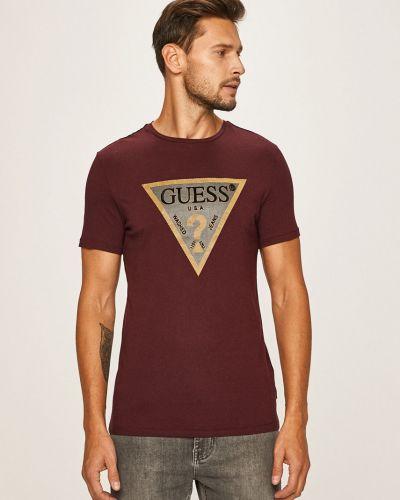 Koszula dzinsowa z wzorem wełniany Guess Jeans