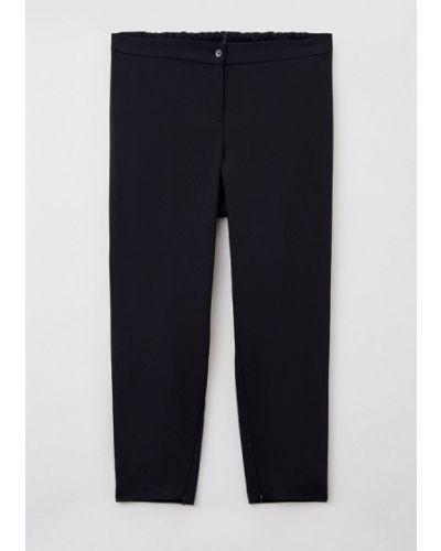 Черные зауженные брюки Silver String