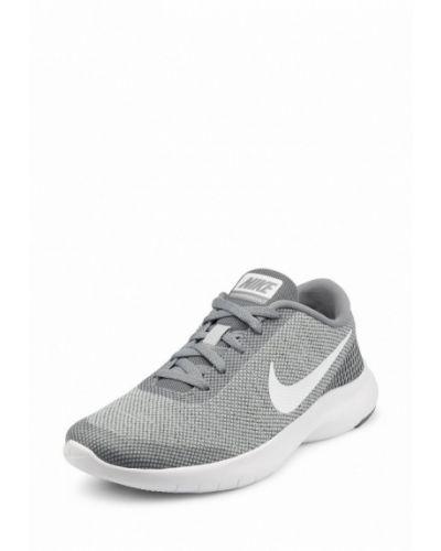 Серые кроссовки резиновые Nike