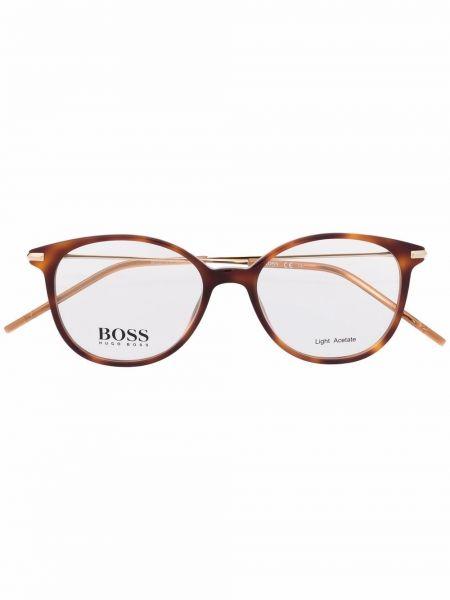 Brązowe okulary Boss Hugo Boss