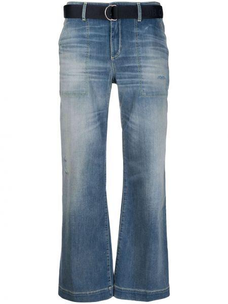 Укороченные джинсы расклешенные с карманами Jacob Cohen