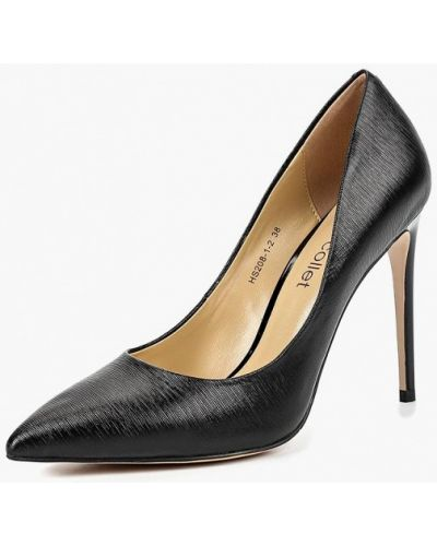 Туфли-лодочки кожаные на каблуке Marie Collet