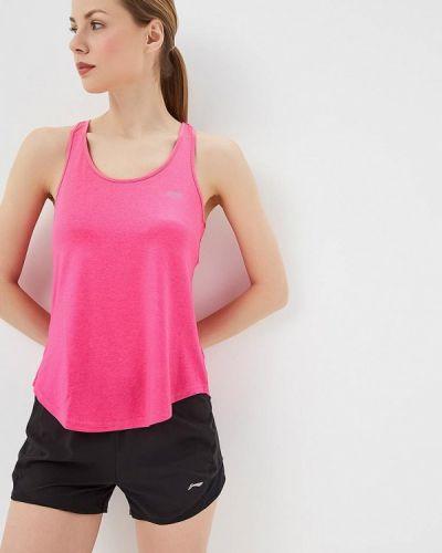 Спортивный топ розовый Li-ning