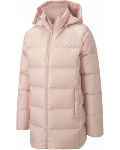 Розовая куртка на молнии Puma
