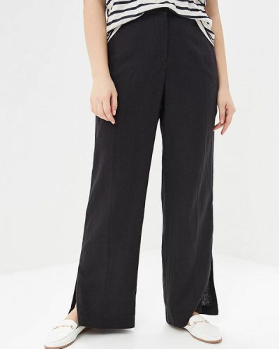 Черные брюки Violeta By Mango