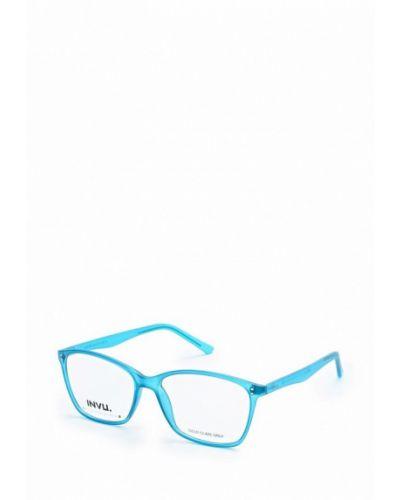 Голубая оправа Invu