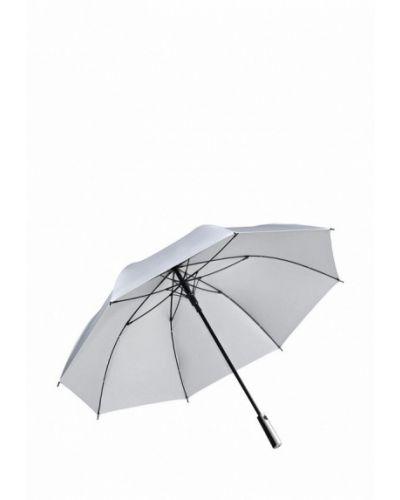 Зонт-трость серебряный Fare