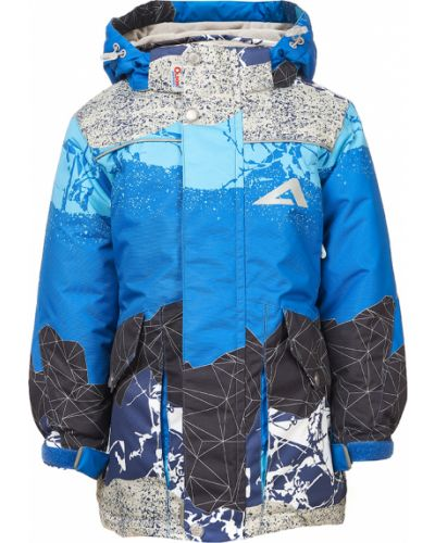 Зимняя куртка синий серая Oldos Active