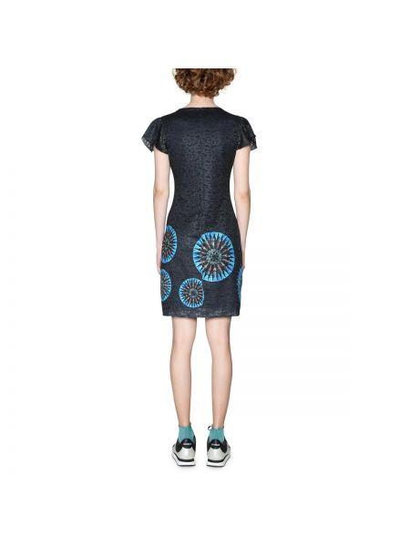 Платье мини прямое с вырезом Desigual