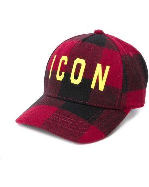 Trykotowy kapelusz klasyczny Dsquared2 Kids