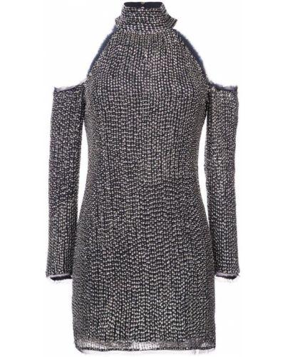 Платье с открытыми плечами шелковое Rachel Zoe