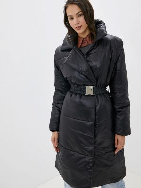 Утепленная куртка - черная Ivyrevel
