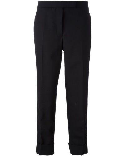 Классические брюки укороченные шерстяные Thom Browne