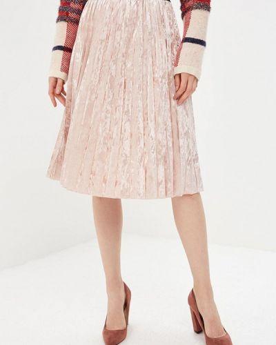Плиссированная юбка итальянский розовая Perfect J