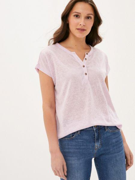 Фиолетовая футболка Colin's