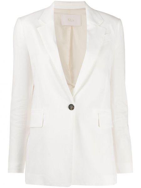 Удлиненный пиджак с карманами Tela