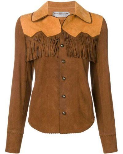 Приталенная рубашка Jessie Western