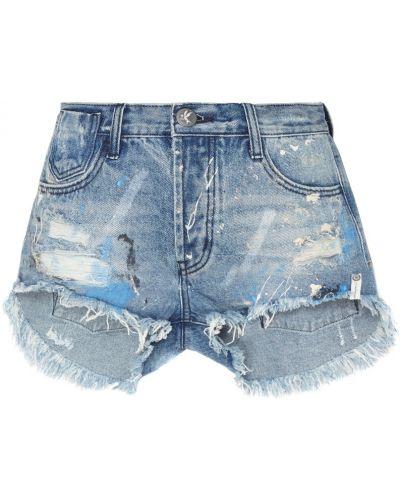 Джинсовые шорты с карманами One Teaspoon