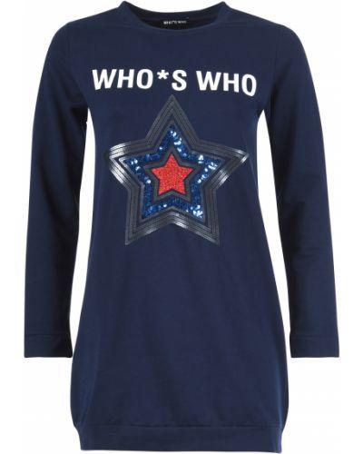 Хлопковая туника - синяя Who's Who