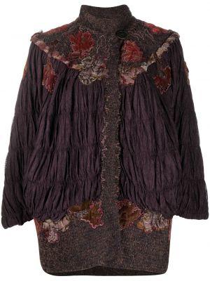 Вязаный трикотажный пиджак с воротником A.n.g.e.l.o. Vintage Cult
