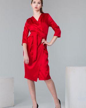 Вечернее платье летнее с запахом Victoria Filippova