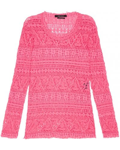 Топ розовый гипюровый Isabel Marant