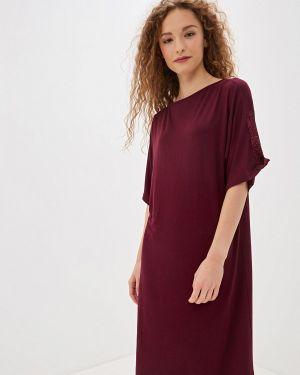 Платье бордовый красный Luisa Moretti