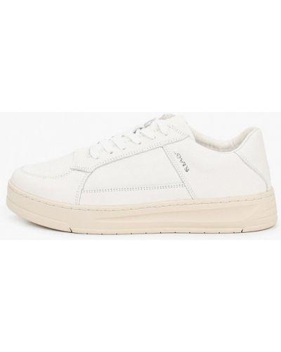 Кожаные белые низкие кеды Levi's®