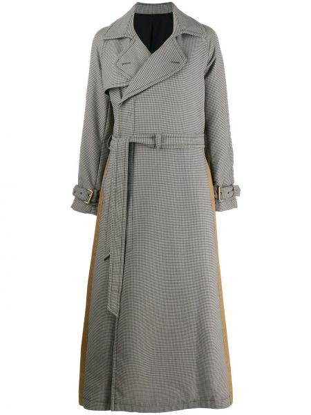 Пальто с поясом - черное A.f.vandevorst