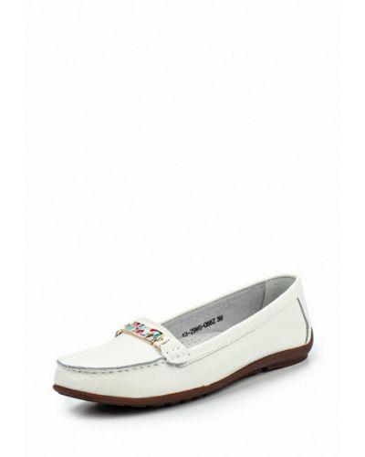 Белые мокасины Zenden Comfort