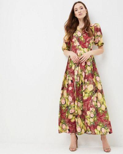 Платье весеннее красный Madam T