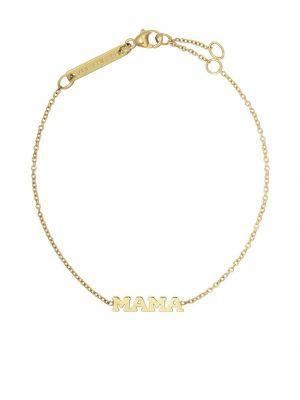 Желтый золотой браслет Zoë Chicco