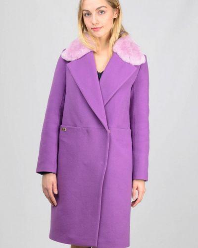 Фиолетовое пальто Raslov