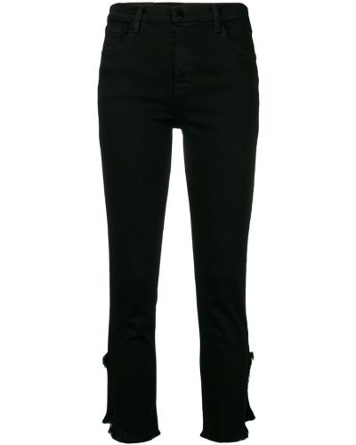Укороченные брюки хлопковые из полиэстера J Brand