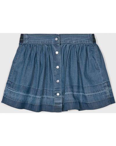 Джинсовая юбка маленький синий Name It