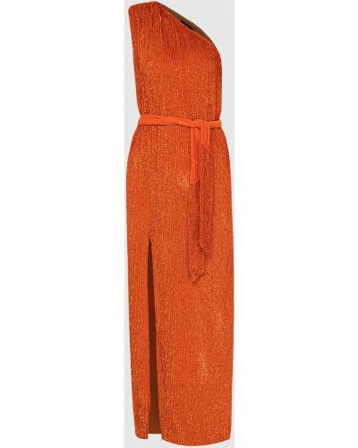 Платье макси - оранжевое Retrofete