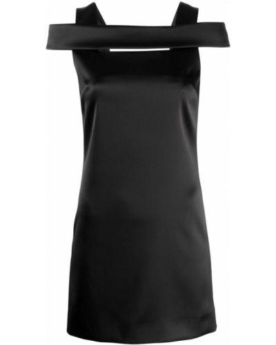 Sukienka z jedwabiu - czarna Givenchy